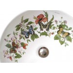 Butterflies and Flowers Painted Vessel Sink Sale
