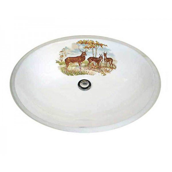 Three Deer Lodge Design Undermount Sink