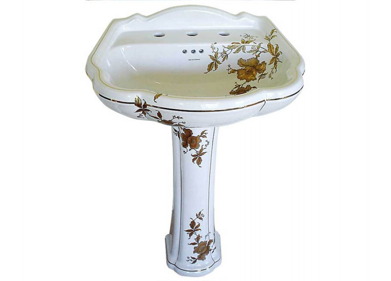 Decorated Bathroom Blog Hand Painted Bathroom Sinks Made In The Usa