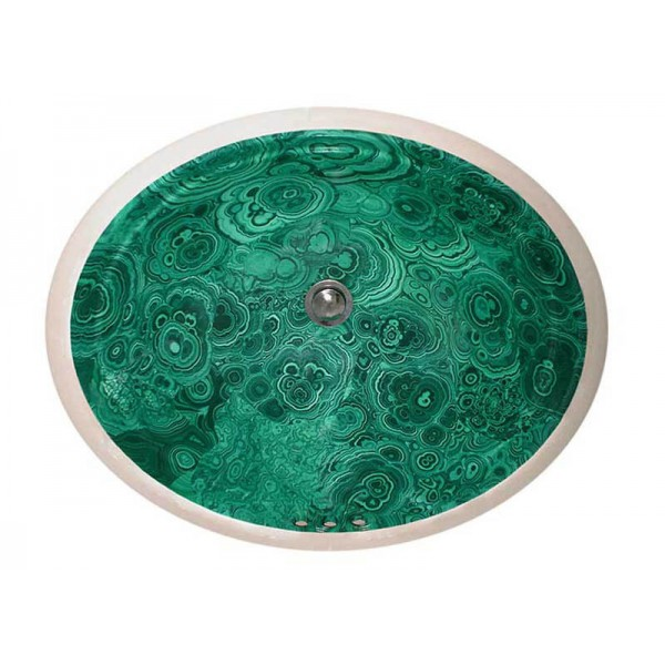 Faux Malachite Undermount Sale