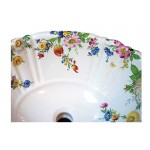 Scented Garden Fluted Drop-in Sink