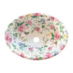 Chintz Garden Fluted Drop-in