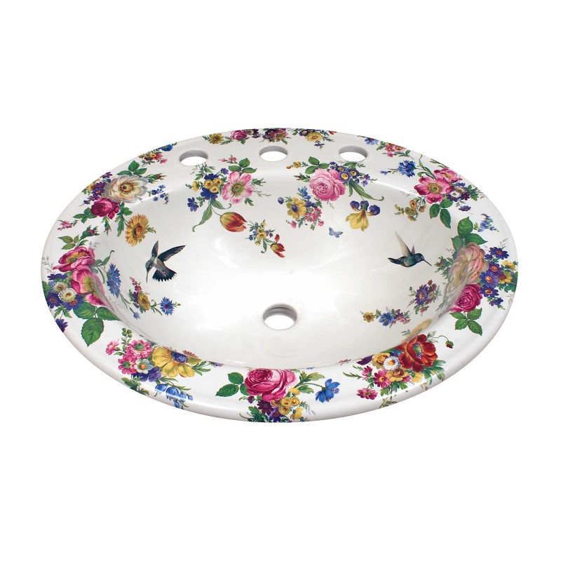 Scented Garden Amp Hummingbirds Drop In Sink