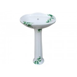 Ivy Painted Pedestal Sink