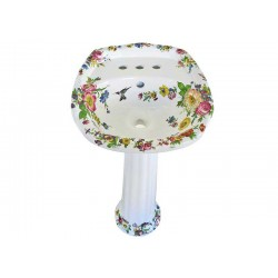 Scented Garden Painted Pedestal Petite