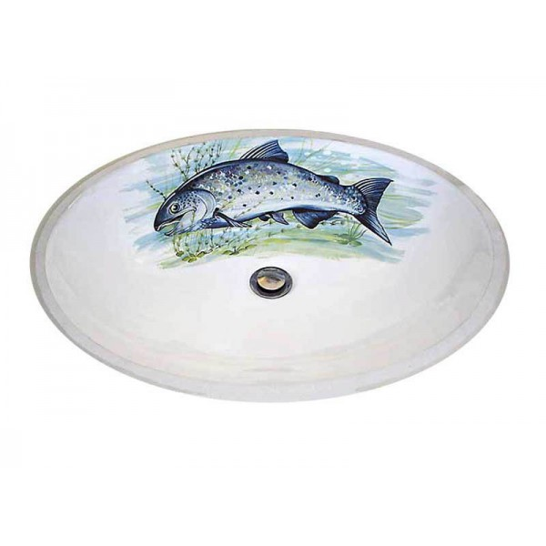 Big Fish Lodge Design Undermount Sink