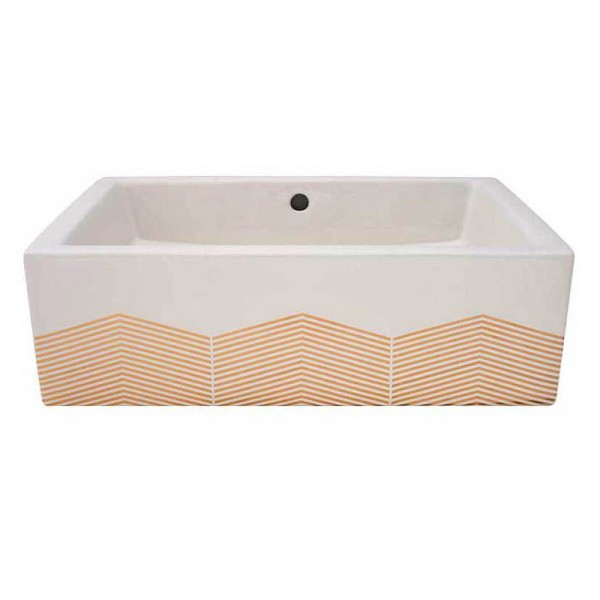 Chevron Vessel Sink Sale