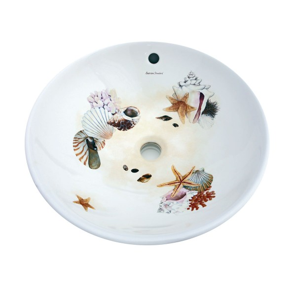 Colorful Sea Shells Vessel Sink Sale